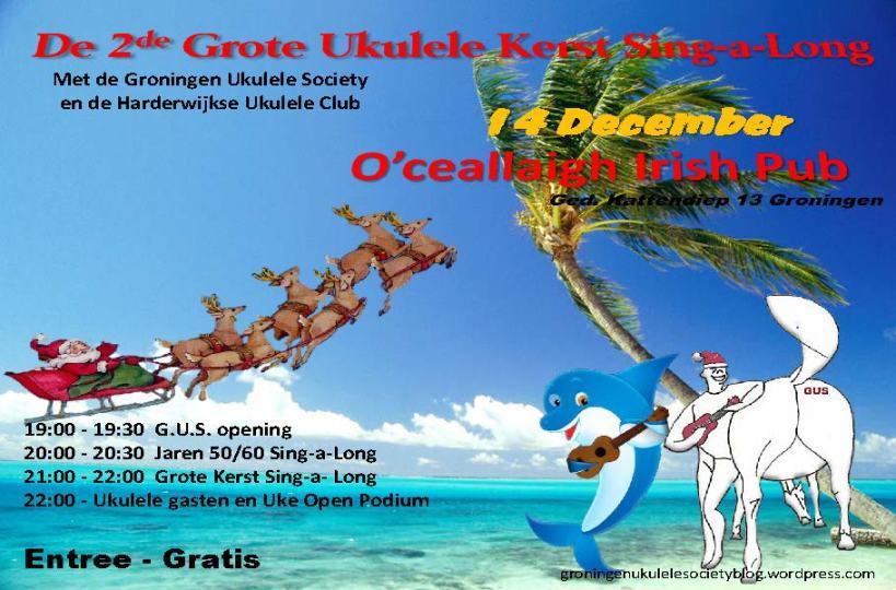 De 2de Grote Ukulele Kerst Sing-a-Long