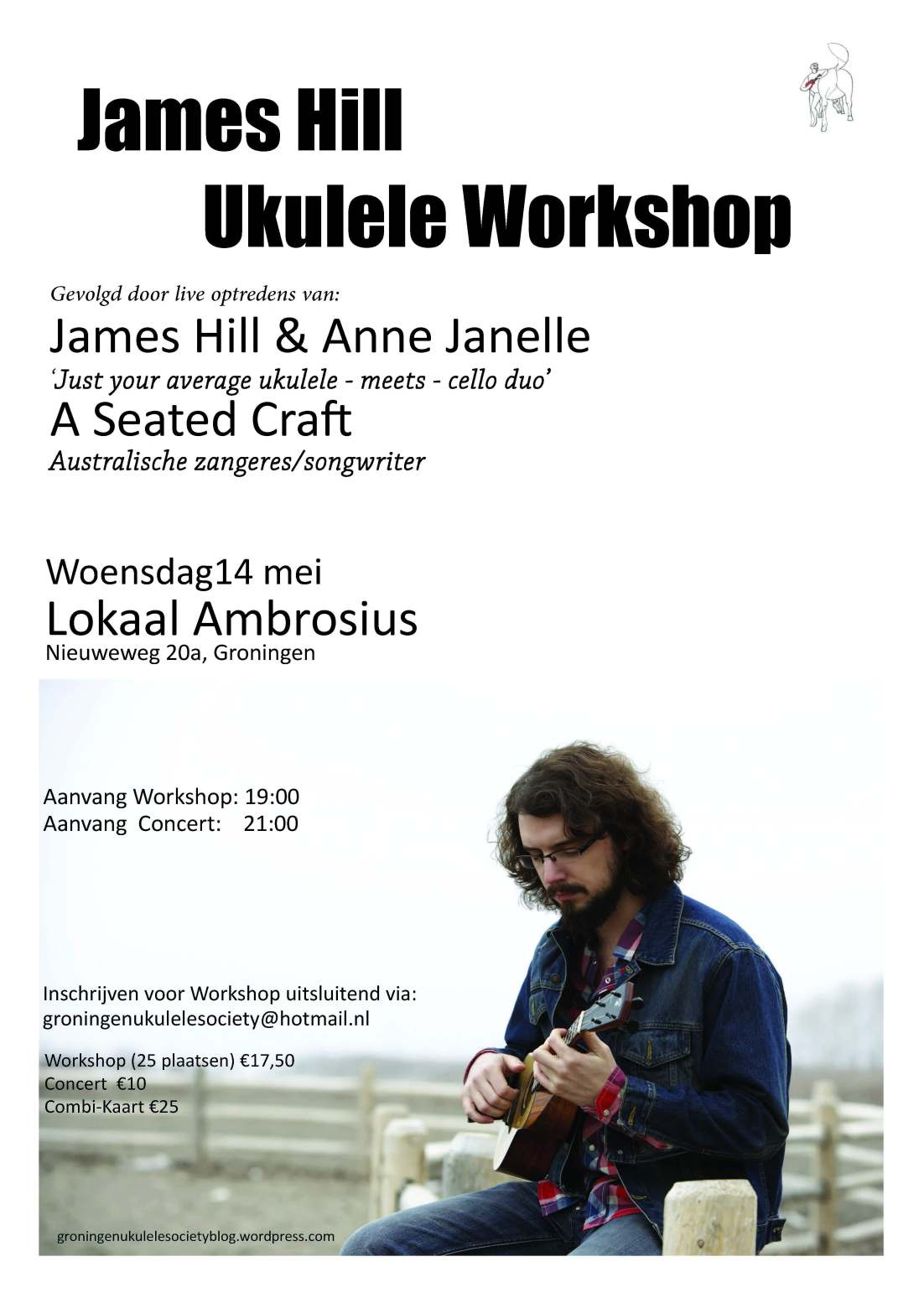 James Hill Ukulele Workshop
